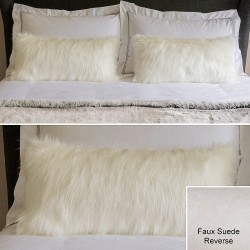 Chamonix Faux Fur Boudoir Cushion