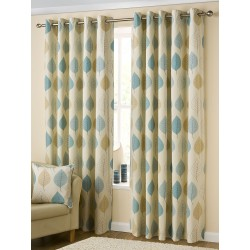 Sorrento Eyelet Curtains Cover