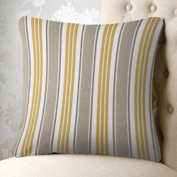 Ascot Stripe 20x20 Cushion Cover