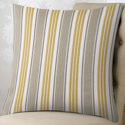 Ascot Stripe 27x27 Cushion Cover