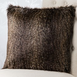 Chamonix Faux Fur 18x18 Cushion Cover
