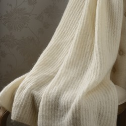 Mont Blanc Mohair Throw