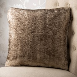 Piedmont Faux Fur 18x18 Cushion Cover