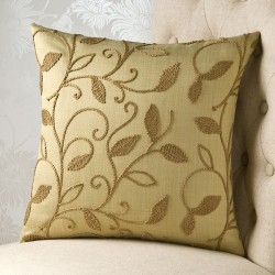 Chain Stitch Brocades 16 x 16 Cushion Cover