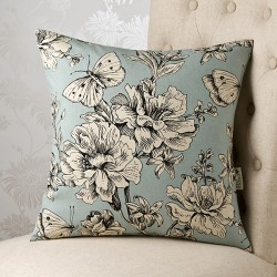 Madame Butterfly 18x18 Cushion Cover