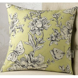 Madame Butterfly 24x24 Cushion Cover