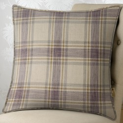 Madison Check 24x24 Cushion Cover