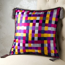 Ribbon Weave 18 x 18 Cushion