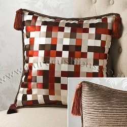 Ribbon Weave 18 x 18 Cushion Cover