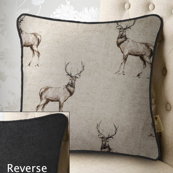 Royal Stag 20x20 Cushion Cover Cover