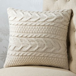 Cable Wave 18 x 18 Cushion Cover