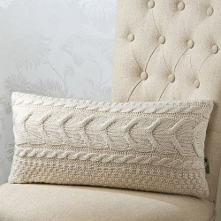 Cable Wave 12 x 20 Cushion Cover