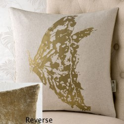 Butterfly Foiol 18x18 Cushion Cover