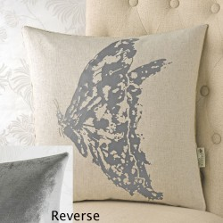 Butterfly Foil 18x18 Cushion Cover