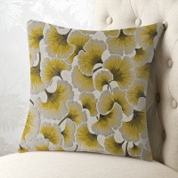 Oriental Flower 18x18 Cushion Cover
