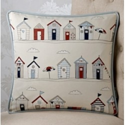 Beach Houses 18 x 18 Cushion Cover