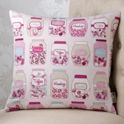 Sweet Things Pink 18x18 Cushion Cover
