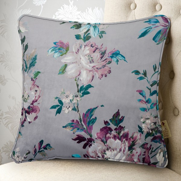 Vintage Floral 20x20 Cushion Cover