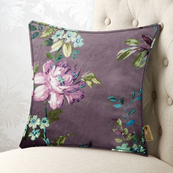 Vintage Floral 18x18 Cushion Cover